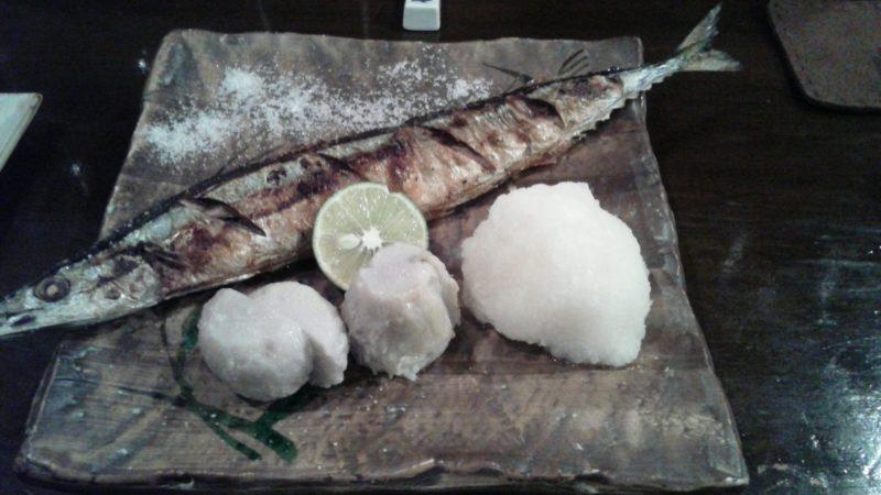 厚岸産秋刀魚