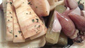 筍の木の芽醤油焼き